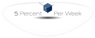 5PercentPerWeek Logo